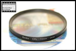 72mm - Kenko Circular Polarized Filter