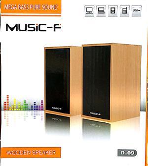 Music F 2.0 Wooden Speaker