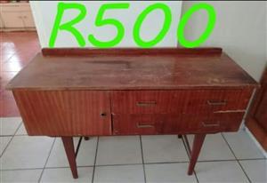 Wooden vintage server for sale