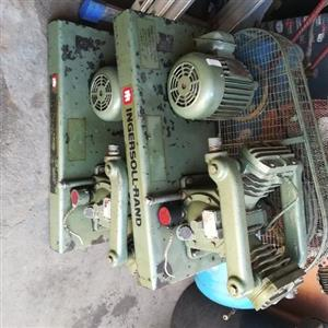 Ingersoll rand compresser motor s and pump