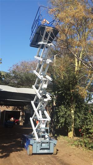 VerticalZA Scissor Lift Iteco IT12122 - 14m Electrical cherry picker Manlift