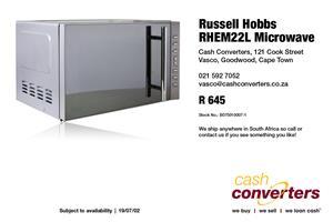 Russell Hobbs RHEM22L Microwave