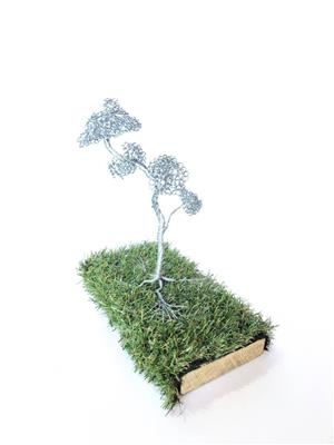 Wire Trees Sculptures