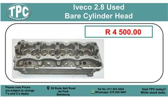 Iveco 2.8 Used Bare Cylinder Head For Sale.