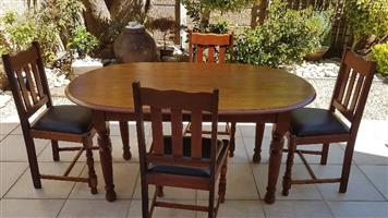Table and Chairs (Teak)