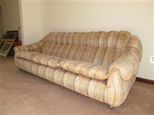 3-piece Fabric Upholstery Lounge Suite