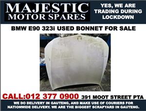 Bmw E90 323i used bonnet for sale