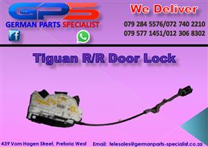 Used VW Tiguan R/R Door Lock for Sale