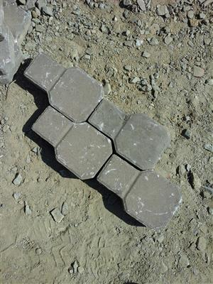 Hexagon Key Pavers