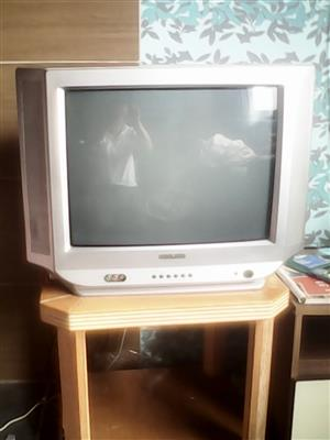 COLOUR TV  60 CM AND DVD MACHINE FOR SALE