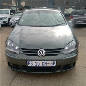 2007 VW Golf 2.0TDI Highline