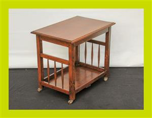 Vintage Oregon Drinks Trolley - SKU 829