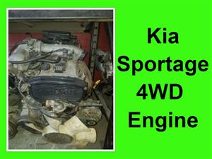 Kia Sportage 4WD engine for sale.