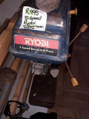 Ryobi 5 speed bench drill press