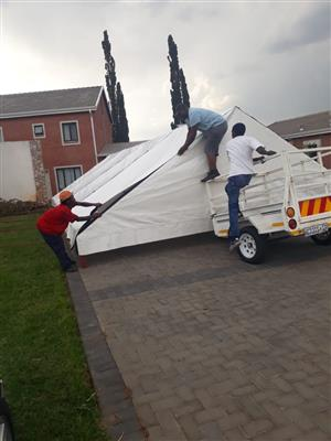 Pk tents and mobile fridges