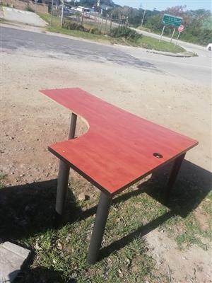 Wooden corner desk for sale