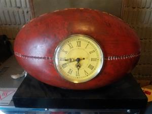 Rugby Ball with clock