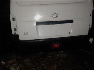 Chana star panelvan rear door