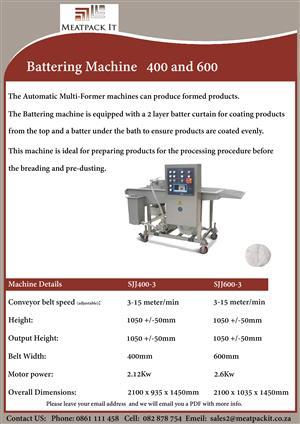 Battering Machine