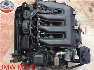 Complete Second hand used engines, BMW E60/E90/E92 4 CYLINDER DIESEL, BMW N47D,