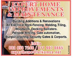 EXPERT HOME IMPROVEMENTS & MAINTENANCE