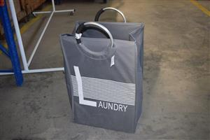Grey laundry bag for sale