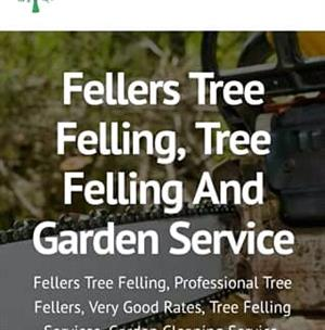 Tree felling and stump removal services