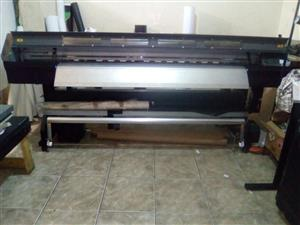 Roland XJ- 740 ecco solvent printer &  NORITSU 3501 plus