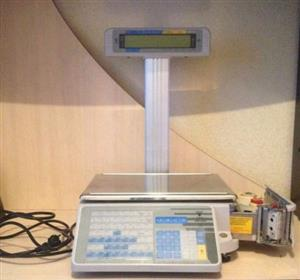 Butchery Scales DIGI SM-300 + Printer and Display Pole