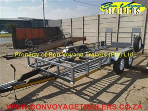 New Car Trailer with Ribbed Floor For Sale