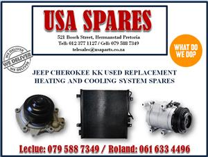 JEEP CHEROKEE KK USED REPLACEMENT HEATING AND COOLING SYSTEM SPARES- CALL NOW USA SPARES