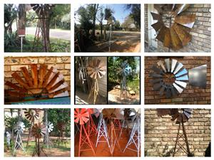 Windmills for the garden and Windmill Wheels for Decoration