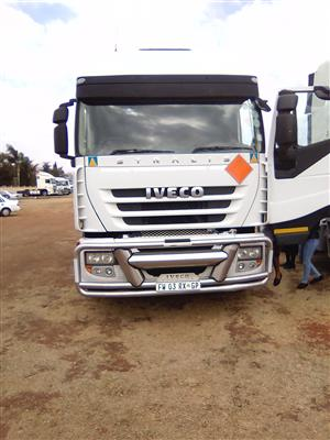 Road runner Iveco stralis for sale!!
