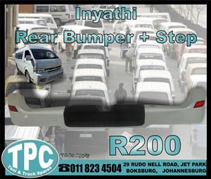 Inaythi Rear Bumper With Step - New - New And Used Used Quality Replacement Taxi Spare Parts - TPC.