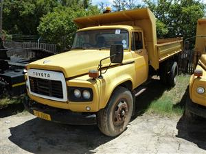 Toyota Tipper Trucks for Sale in On-site Auction of Vehicles & Plant Equipment in Paarl.