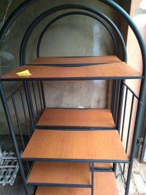 Steel and wooden shelves for sale