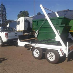COMBO OF SKIP TRAILER AND 10 2CUBES SKIP BINS CALL 0797279774/(011)914-1035