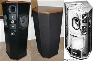 TDL REFERENCE TRANSMISSION LINE LOUDSPEAKERS
