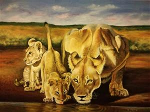 Commissioned artist (fine art) Reasonable Prices