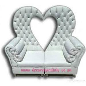 Heart Shaped Wedding furniture for sale in East London