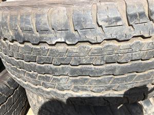 Land cruiser 200 tyres