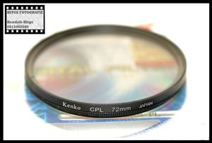 72mm - Kenko Circular Polarized Filter