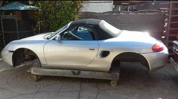 1999 Porsche Boxster Spyder
