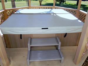 This is an original Vita  Spa Hot tub Jacuzzi