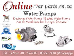 High Quality Water Pumps Electronic Water Pumps Electric Water Pumps Pulleys Thermostat Housings