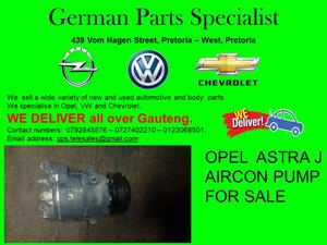 OPEL ASTRA J AIRCON PUMP FOR SALE