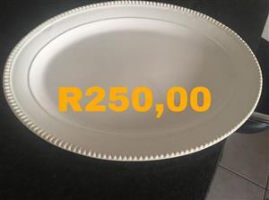 White decor plate for sale