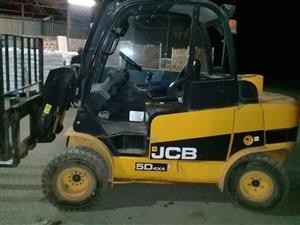 JCB 4x4 Forklift/Teletruk