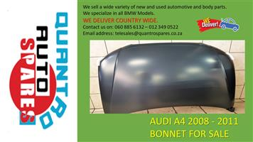 AUDI A4 2008 - 2011 BONNET FOR SALE