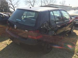 2003 VW Golf 2.0TDI Comfortline R Line
